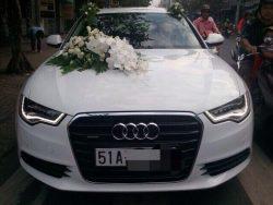 Thuê xe hoa Audi A6
